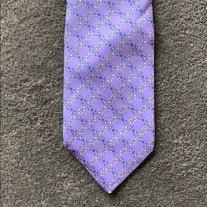 Brooks Brothers Pure Silk Purple Tie
